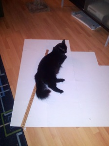Kaylee is the most helpful at scaling up patterns!