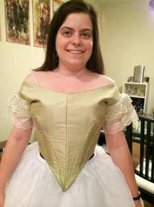 3 bodice front