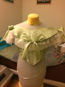 5 finished bodice