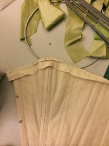 corset binding