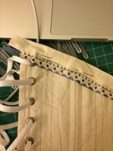 corset trim
