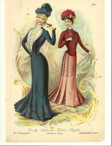 Early Autumn Tailor Styles. September 1900, The Delineator.