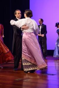 Dancing the Edinburgh Schottische