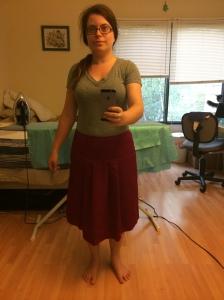 wool skirt 1