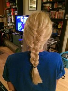 24 wig back