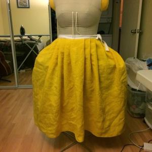 under petticoat